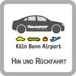 Flufhafentransfer Köln Bonn Hin- und Rückfahrt
